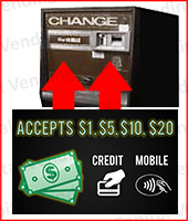 Rowe Dollar Bill Changer Graphics