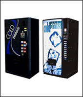 Refurbished Soda Machines - Cans & PET bottles