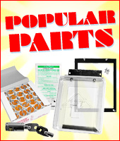 Popular Parts - Mounting Brackets, Cleaning Cards, Weather Guard, Starters, etc.