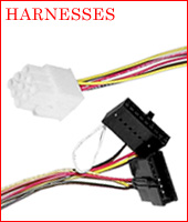 Harnesses: cross-over, power, extension, validator installation, DEX, MDB, jumpers