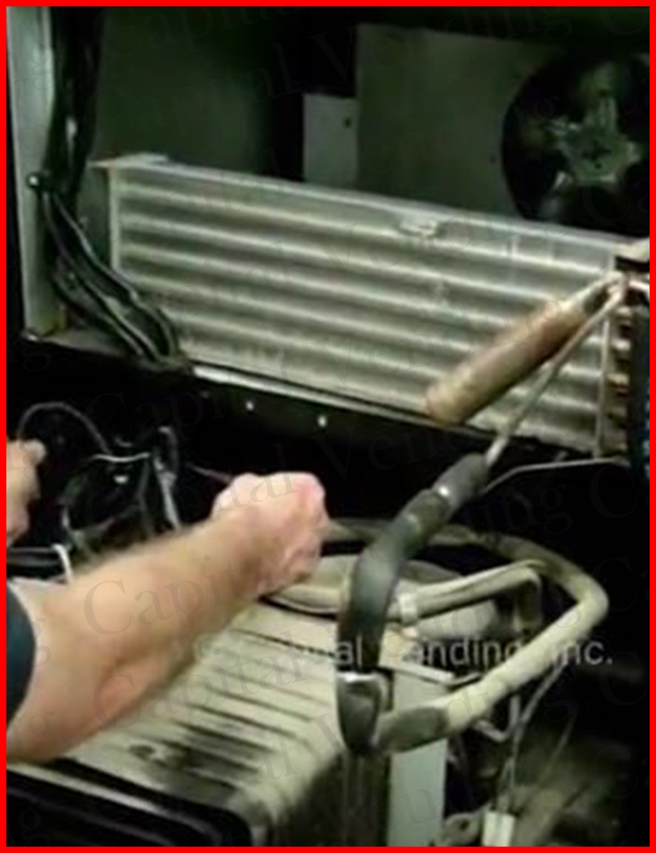 Overview of replacing a refrigeration system in a stack soda