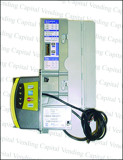 Mars MEI VN25H2 MDB Validator with Credit Card Reader with 3