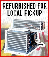 Refurbished Refrigeration Systems - Available for Local Pickup Only