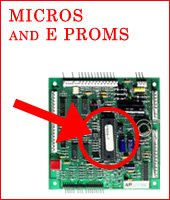 Micros, E proms ro update for card readers,, & logic arrays - programmed