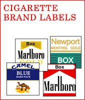 Cigarette Brand Labels