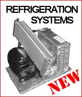Refrigeration systems - new in box