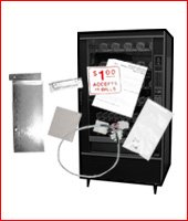 Snack machine - wiring harness & mounting hardware kits