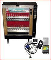 Cigarette machine update kits