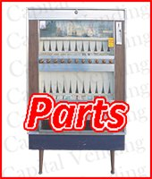 National Vendors Cigarette Machine Parts