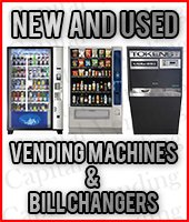 Vending Machines & Dollar Bill Changers