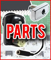 Parts for Machines, Dollar Bill Changers, Bill Validators, Coin Changers, Locks, & Labels