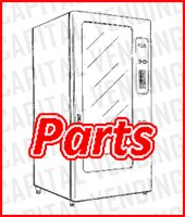 RRF Series Round Front Snack Refridgerated - 3170, 3169, 3168