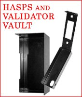 Security Plates, Hasps, and Validator Vaults