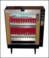 Refurbished Cigarette Machines and Bill Mates