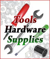 Tools, Hardware, and Supplies