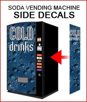 Side Decals - cold drinks