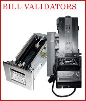 Bill Validators & Acceptors - Purchase, Advance Replacement, Repairs