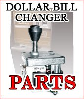 Dollar Bill Changers, Hoppers, Bill Breakers, & Parts