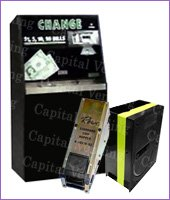 Dollar Bill Changers and Hoppers manuals downloads