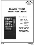 3129, 3130, 3140 Glass Front Merchandiser Manual (19 Pages)
