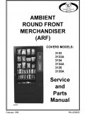 3133, 3134, 3135 Ambient Round Front Merchandiser Manual (56 Pages)