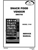 3160 Snack Vendor SM5700 Manual (56 Pages)