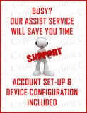 Assist Service for installing a credit card reader