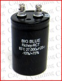 "Atari Power Supply Capacitor 27,000 UF 25v ""Big Blue"" for Video Games"