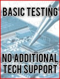 Basic part testing – no additional support