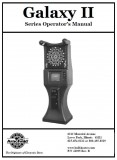 Galaxy 2 Series Operators Manual 18 pages