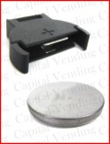 Coin battery with Socket