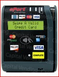 USA technologies G9 Credit card reader mask only