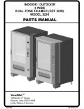 Indoor - Outdoor 5 Wide Dual Zone Foamed (DZF 5000) Parts Manual (46 Pages)