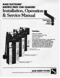 Mars Electronic Multiple Price Coin Changer Installation, Operation & Service Manual