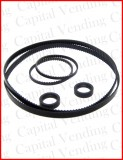 Conlux CV1000 Belt kit - 6 items