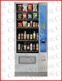 New Crane National Vendors Merchant 4 Combination Snack/Bottled Machine - 6 Trays