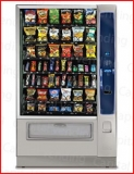 "Crane National Merchant 6 Media Snack Machine with 3.5"" Touch Screen"