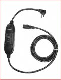 GFCI power cord for glass front snack vendors