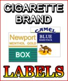 Brand Labels for National Vendors 222 & 800