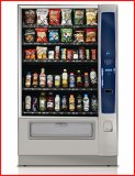New Crane National Vendors Merchant 6 Combination Snack/Bottled Machine - 5 Trays