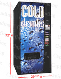 Dixe Narco Cold Drink Machine - 276E