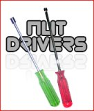 Long handle nut drivers