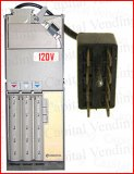 Refurbished coin changer 8 pin 120v