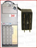 Refurbished coin changer 8 pin 24v