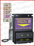 Pyramid XLC 5400 Stackerless Bill Validator (Accepts $1-$20) 120V
