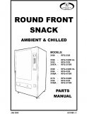 Round Front Snack Ambiet & Chilled Parts Manual (52 Pages)