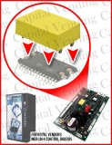 Replacement Yellow Battery for Royal Vendors Merlin 4 Control Boards