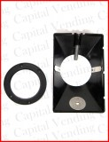 SCM Hopper Funnel and quarter adapter ring