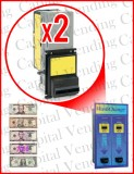 Unitec Wash Changer Double Validator Upgrade Kit - Mars MEI Series 2000