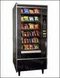 Crane National Vendors Refurbished Glass Front Snack Machine - NV168